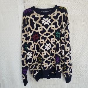 Bachrach Vintage Oversized 80% Silk Sweater